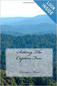 My first book, a poetry book, titled Setting The Captive Free