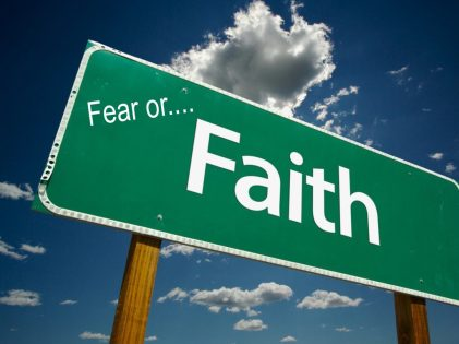 What would it be...Fear or Faith?